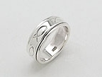 sterling silver Motion rings AR0022