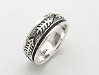 sterling silver spinner rings AR0032