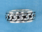 sterling silver spinner rings AR0089