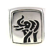 sterling silver elephant ring AR706-515