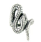 sterling silver snake ring style ASNR892