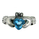sterling silver claddagh rings CLR1003 December