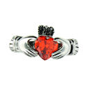 sterling silver claddagh rings CLR1003 January