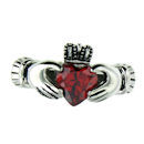 sterling silver claddagh rings CLR1003 July