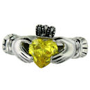 sterling silver claddagh rings CLR1003 November