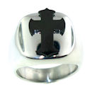 Stainless Steel skull ring CRC2031
