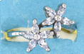 sterling silver Cubic Zirconia ring CZ0012 Clear