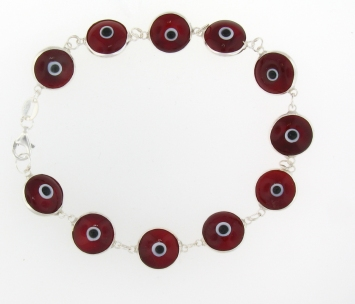 Evil Eye Bracelet EEB001 Red