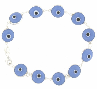 Evil Eye Bracelet EEB002 Light Blue