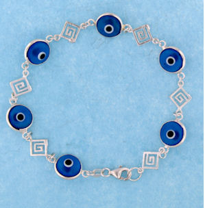 Evil Eye Bracelet EEB025 Dark Blue