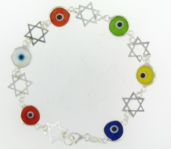 Evil Eye Bracelet EEB0406 Mixed