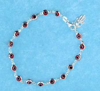 Evil Eye Bracelet EEB6121HAM-RED