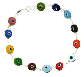 Evil Eye Bracelet EEB703 Multi