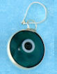 Evil Eye Pendant EEC002GREEN