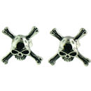 stainless steel skull earrings ERC1005