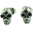 stainless steel skull earrings ERC1007