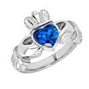 Claddagh Birthstone Ring FBS0009