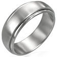stainless steel Worry ring FNS007