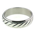 stainless steel Worry ring LRJ2143