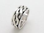 sterling silver Worry rings AR0036