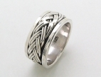 sterling silver spinner rings AR0038