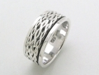 sterling silver Worry rings AR0040