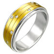 stainless steel spinner ring MSD022