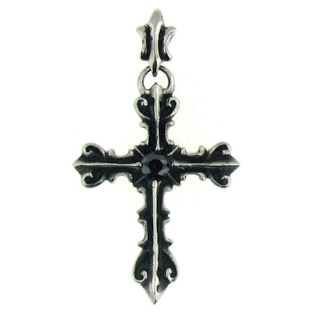 PDC2023 stainless steel cross pendant ENLARGED
