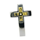stainless steel cross pendant PDJ3379