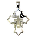 stainless steel cross pendant PDJ3542