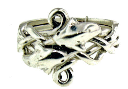 Model PR1196 Puzzle Ring Enlarged