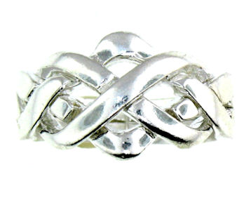 Silver Puzzle Ring PRPZ0004