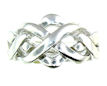 sterling silver puzzle ring style PRPZ0004