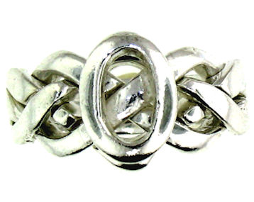 Silver Puzzle Ring PRPZ0008