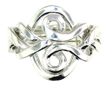Silver Puzzle Ring PRPZ0009