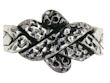 model PRW0197 Snake Puzzle Ring