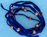 Evil Eye 11465 bracelet Blue with red eyes