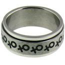 stainless steel spinner ring RRJ0067