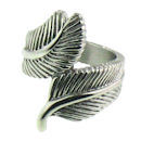 Stainless Steel feather ring SCR3051