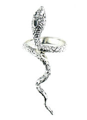 sterling silver snake ring style SNR706-10163