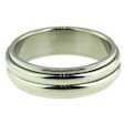 stainless steel spinner ring SRJ0085