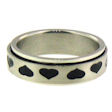 stainless steel spinner ring style SRJ2246