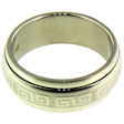 stainless steel Worry ring SRJ2284