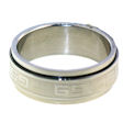 stainless steel spinner ring style SRJ2285