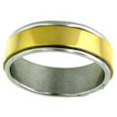 stainless steel spinner ring style SRJ2451