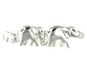 sterling silver elephant brooch pin WEPN18