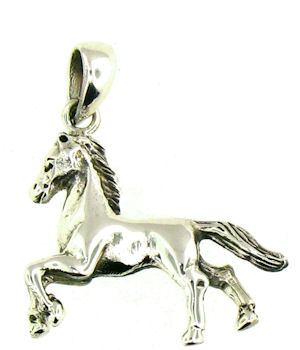 WLPD99 Horse Pendant ENLARGED