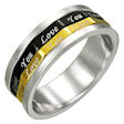 stainless steel Worry ring WSE013