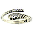 sterling silver snake ring style WSR83