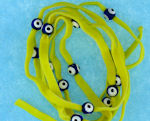 Evil Eye 11465 bracelet yellow with blue eyes